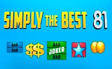 Игровой автомат Simply the best 81